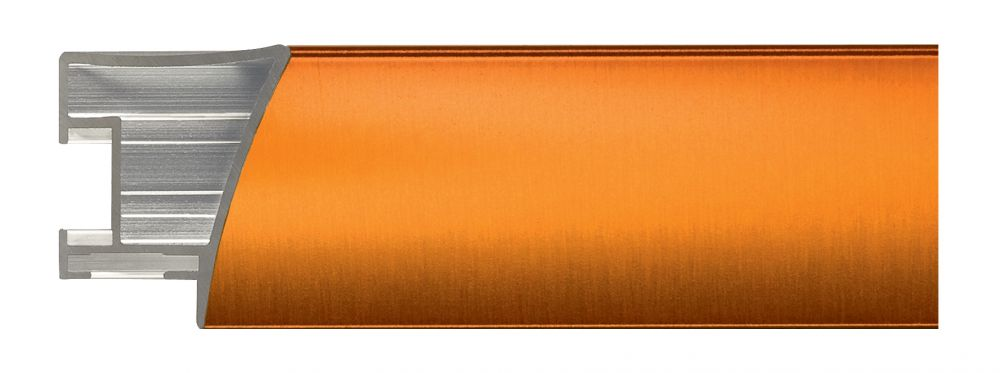 Aluminium lijst - NIELSEN - Profiel 225 - Brushed Citrin 225-217