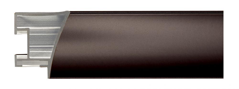 Aluminium lijst - NIELSEN - Profiel 225 - Brushed Darkbrown  225-205