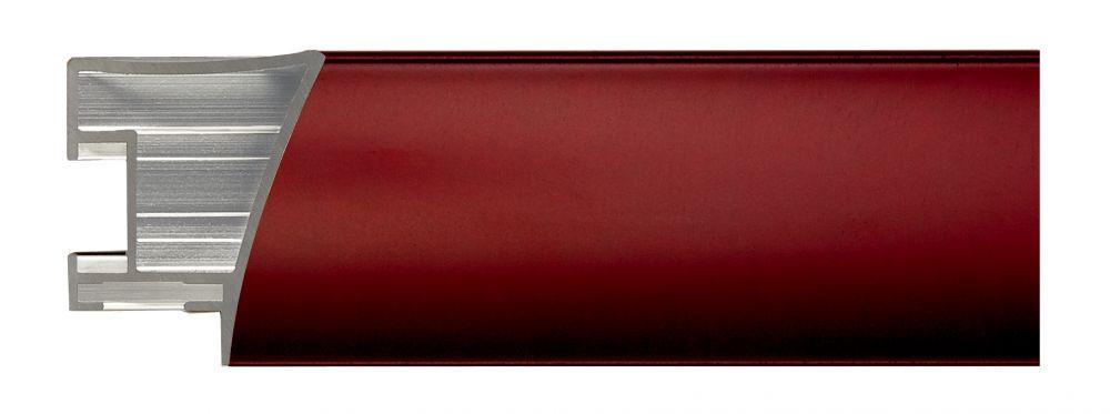 Aluminium lijst - NIELSEN - Profiel 225 - Brushed Garnetred 225-208
