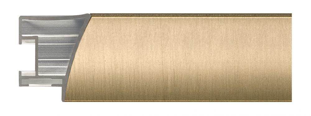 Aluminium lijst - NIELSEN - Profiel 225 - Brushed Gold  225-220