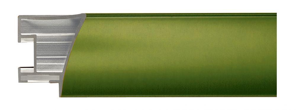 Aluminium lijst - NIELSEN - Profiel 225 - Brushed Oakgreen 225-206