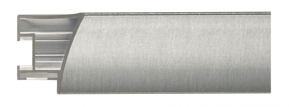 Aluminium lijst - NIELSEN - Profiel 225 - Brushed Silver  225-218