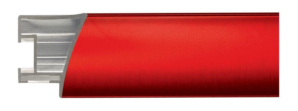 Aluminium lijst - NIELSEN - Profiel 225 - Brushed Tourmalinered 225-210