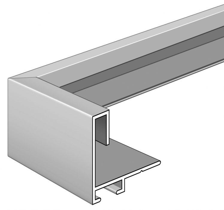 Aluminium lijst - NIELSEN - Profiel 271 - Mat Wit 271-027