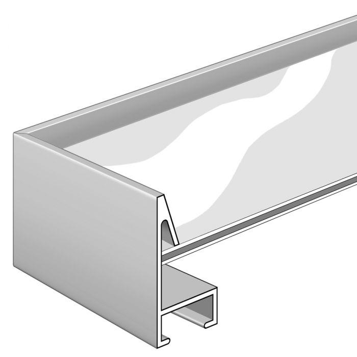 Aluminium lijst - NIELSEN - Profiel 272 - Glanzend Zilver 272-003