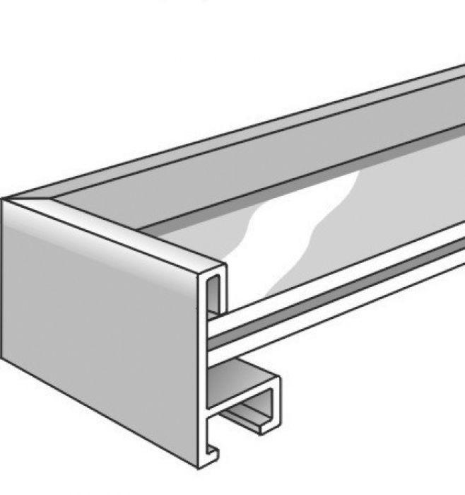 Aluminium lijst - NIELSEN - Profiel 34 - Maple 34-511