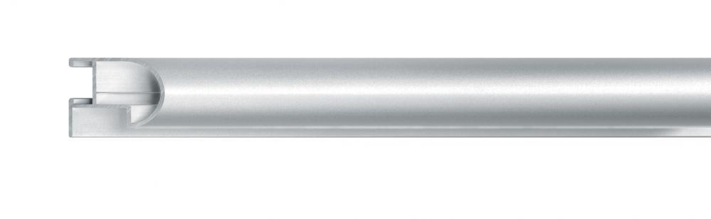 Aluminium lijst - NIELSEN - Profiel 75 - Mat Zilver  75-004