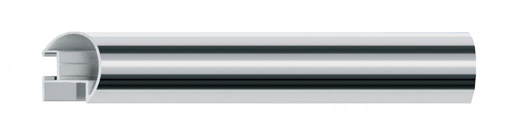 Aluminium lijst - NIELSEN - Profiel 85 - Glanzend Zilver  85-003