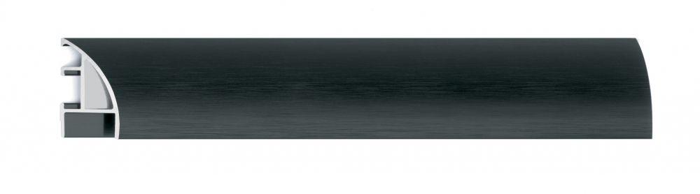 Aluminium lijst - NIELSEN - Profiel 87 - Zwart Structuur 87-316