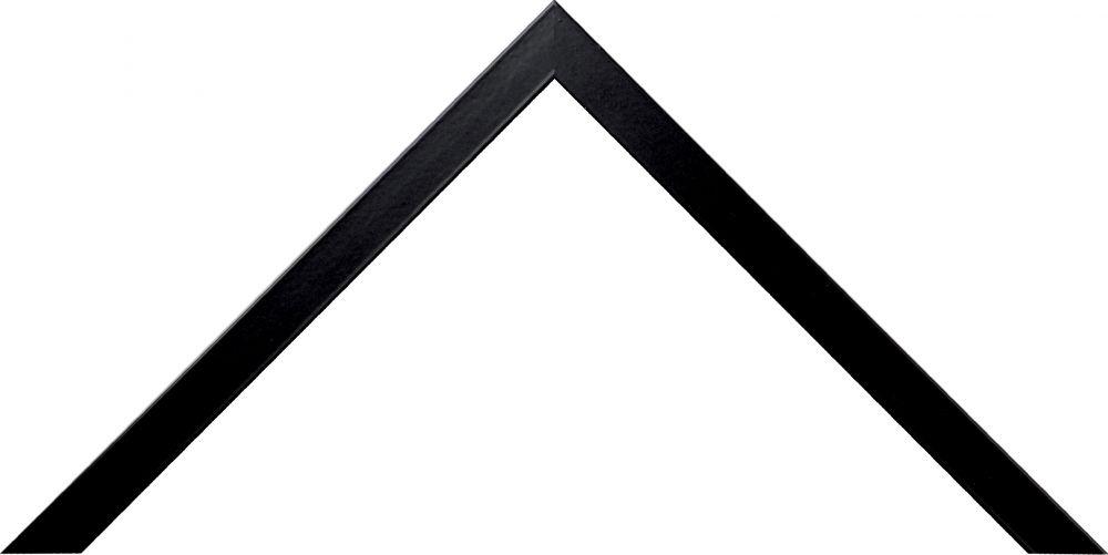 Barth aluminium wissellijst 1125 zwart gelakt