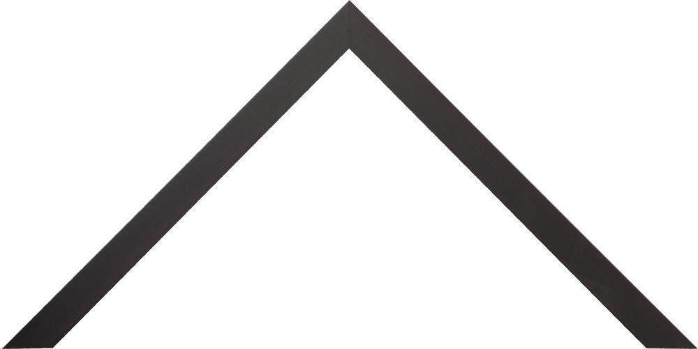 Barth aluminium wissellijst 1125 zwart