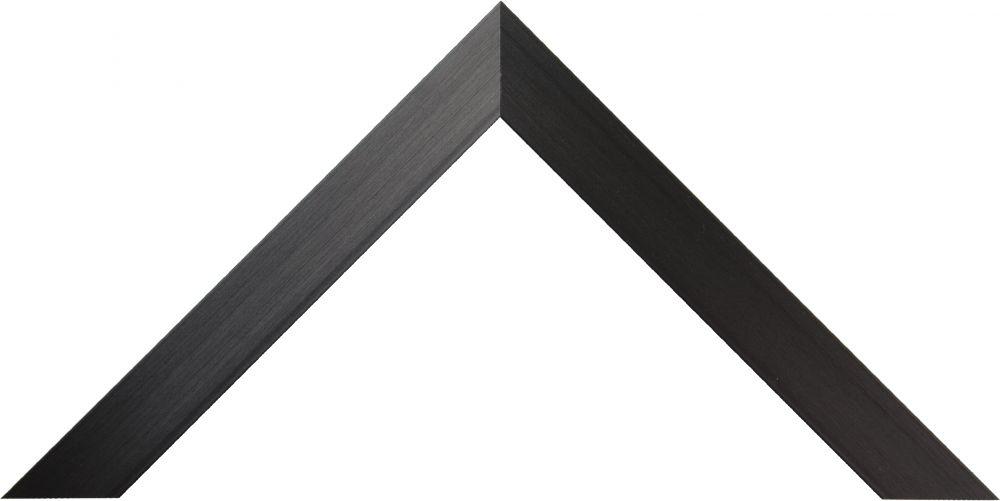 Barth aluminium wissellijst 1828 geschuurd zwart