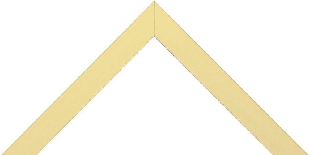 Barth aluminium wissellijst 1828  wit goud