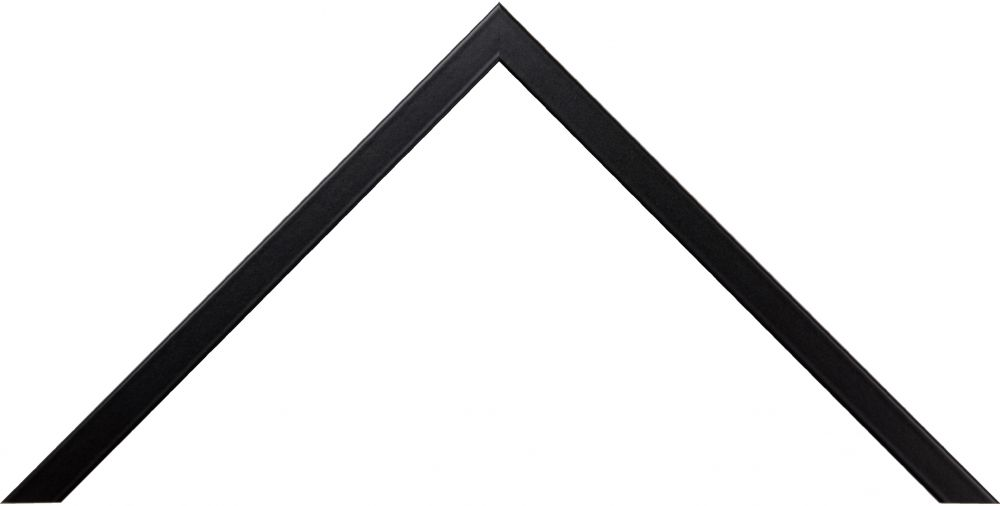 Barth aluminium wissellijst 916 geschuurd zwart