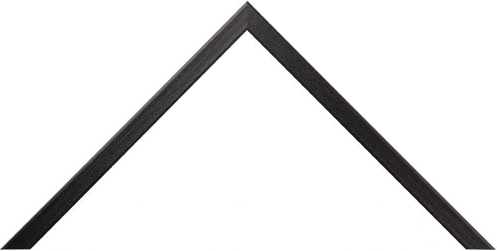 Barth aluminium wissellijst 916 zwart essen (imitatie) fineer