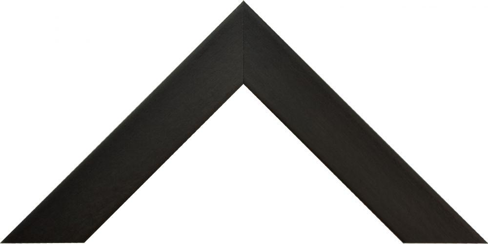Barth wissellijst  hout serie 810 box frame  zwart populier + verdiepingsprofiel 810-127