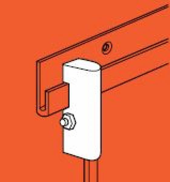 Blokkeringsblokje voor ophang plus