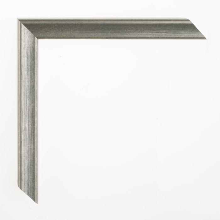Houten lijst - Aicham - AMATI - Mosgroen Zilver 19 mm