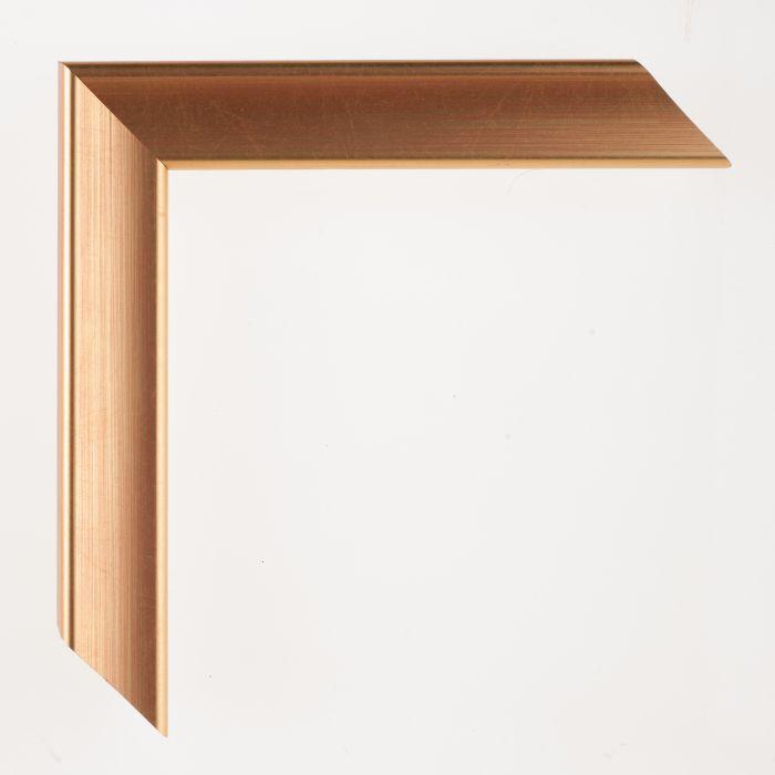 Houten lijst - Aicham - JOY - Rood op goud breed 30 mm