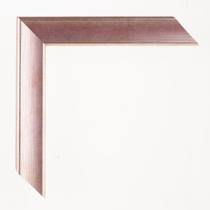 Houten lijst - Aicham - JOY - Rood op zilver breed 30 mm