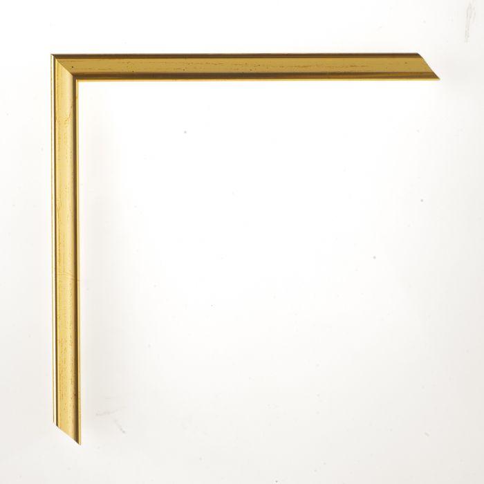 Houten lijst - Aicham - PRIMUS I - Deens goud met oker