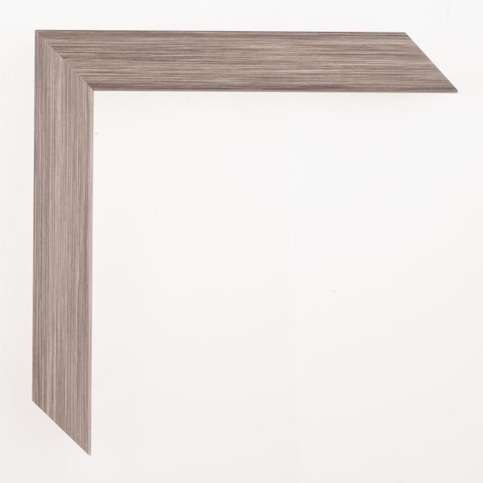 Houten lijst - Aicham - SENTO II - Grijs Zilver 22 mm