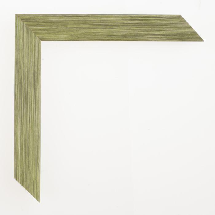 Houten lijst - Aicham - SENTO II - Groen Zilver 22 mm