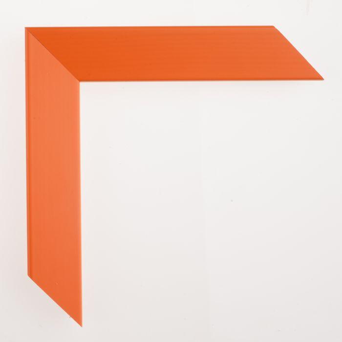 Houten lijst - Aicham - SENTO V - Oranje gelakt