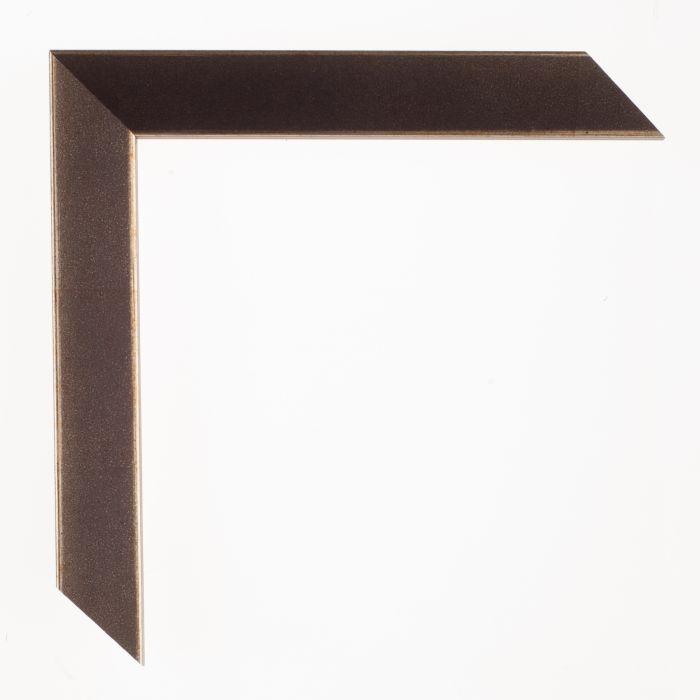 Houten lijst - Aicham - SENTO2A - Antraciet zilver breed 22 mm