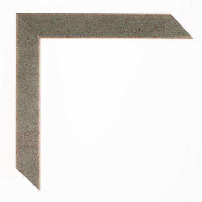 Houten lijst - Aicham - SENTO2A - Reseda groen zilver breed 22 mm