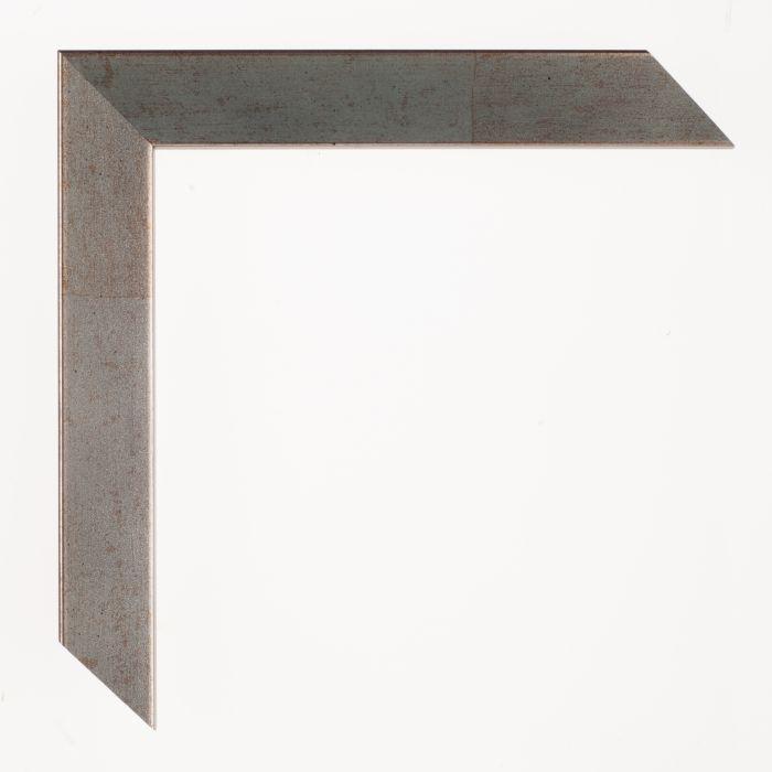 Houten lijst - Aicham - SENTO2A - Zacht blauw zilver