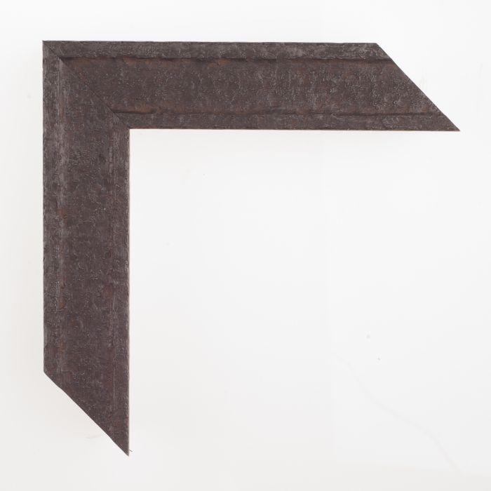 Houten lijst - ANVIL2 - Roestig staal breed 40 mm