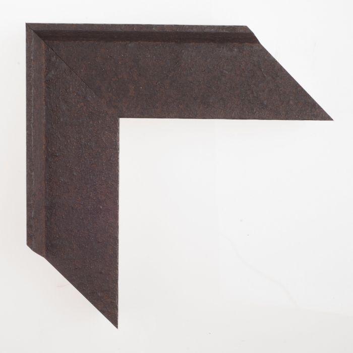 Houten lijst - ANVIL2 - Roestig staal breed 65 mm