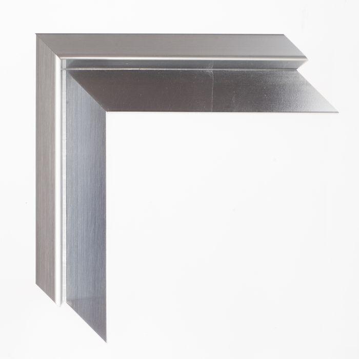 Houten lijst - baklijstTATE - Soft Silver breed 17 mm