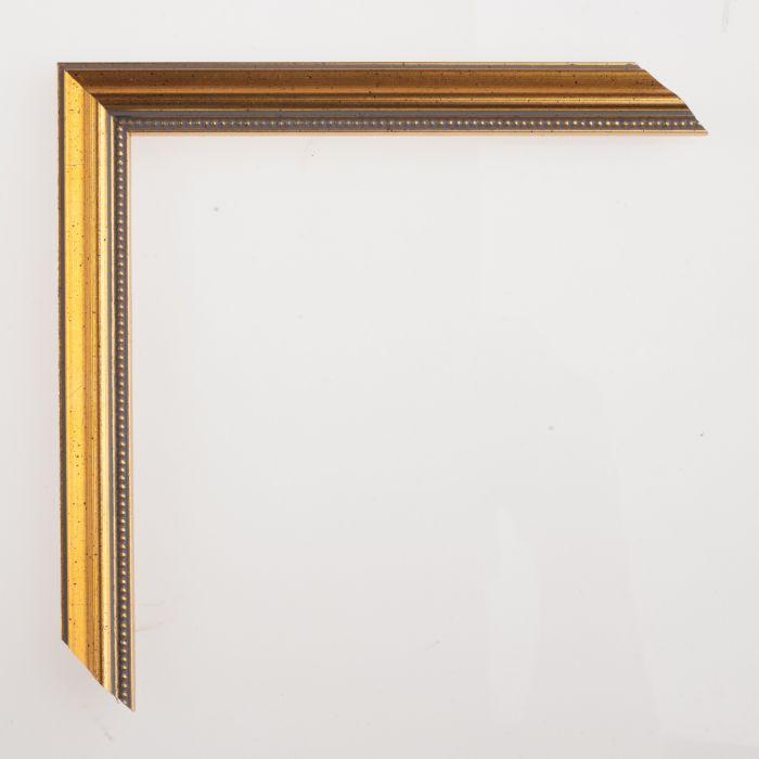 Houten lijst deco goud breed 20 mm - Houten deco ...