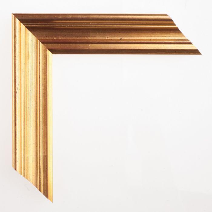 Houten lijst deco goud breed 39 mm - Houten deco ...