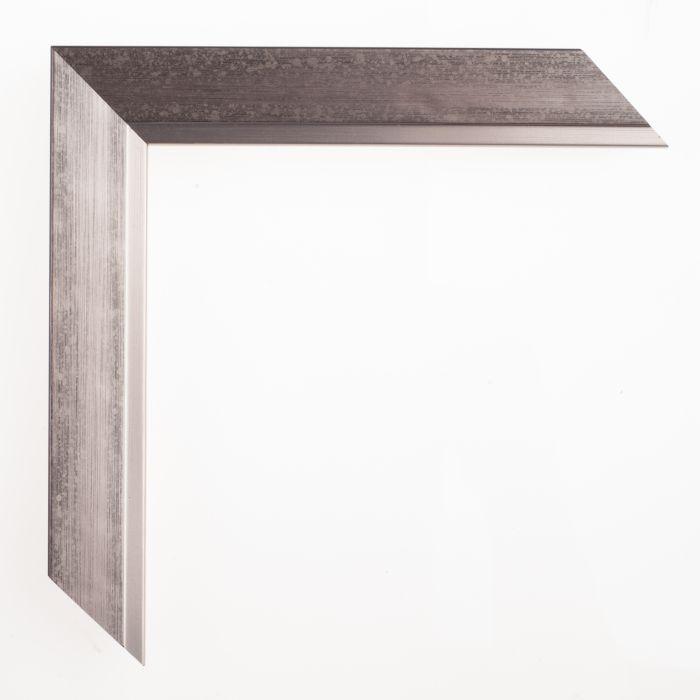 Houten lijst - DOMUS - Donker Zilver 27 mm