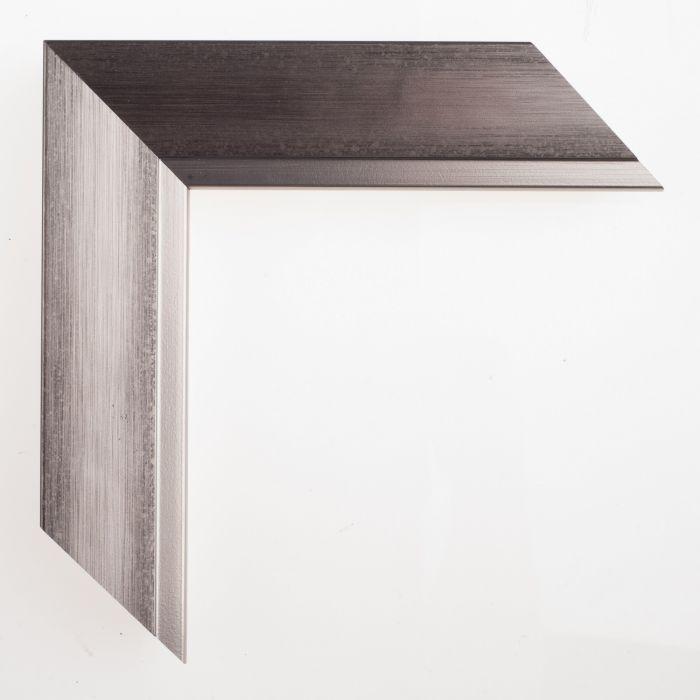 Houten lijst -  DOMUS - Donker Zilver 45 mm