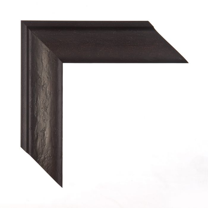 Houten lijst - DRESDEN - Zwartbruin breed 50 mm