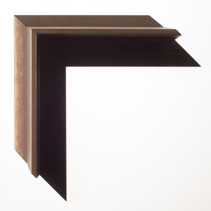 Houten lijst -- FOUNDRY - Brons baklijst breed 0.8 mm