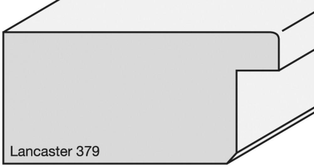 Houten lijst -  LANCASTER - Flat Spli Rail Tan