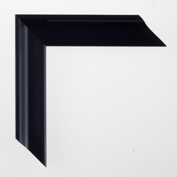 Houten lijst - TATE - Satin Black 38 mm