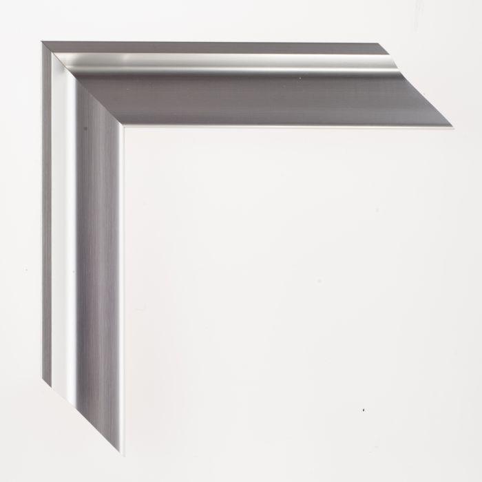 Houten lijst - TATE - Soft Silver 38 mm