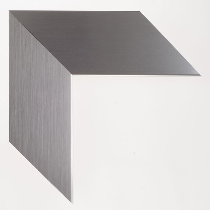 Houten lijst -  TATE - Soft Silver breed 76 mm