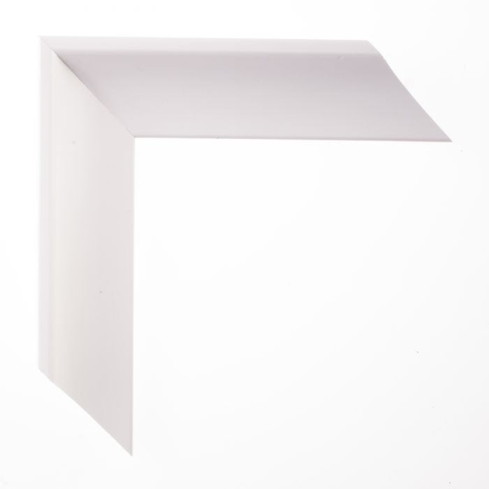 Houten lijst  - TRIBECA II - Wit kleine schelp 45 mm