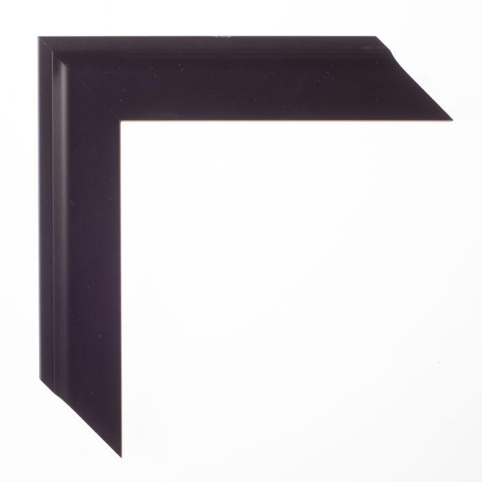Houten lijst -  TRIBECA II - Zwart curve breed 37 mm