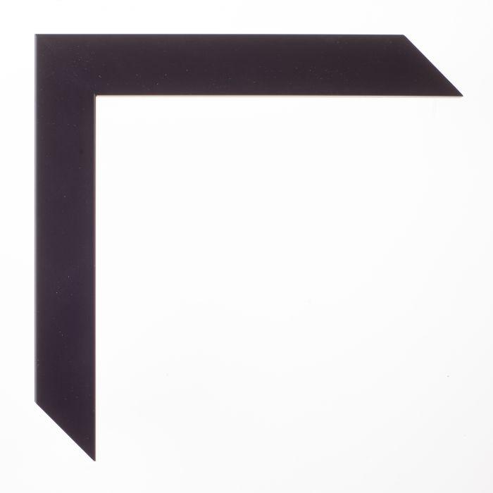 Houten lijst -- TRIBECA II - Zwart hoog boxframe 25 mm