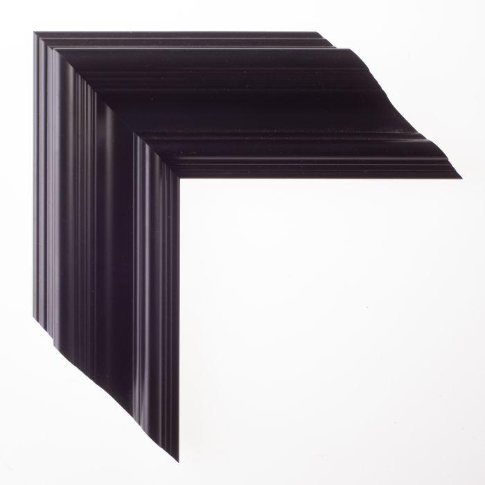 Houten lijst -  TRIBECA II - Zwart klassiek 80 mm