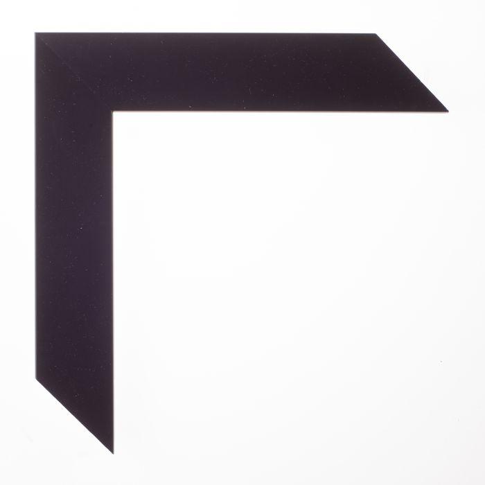 Houten lijst -  TRIBECA II - Zwart schuin middel breed 35 mm
