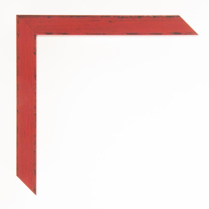 Houten lijst  - KOMODO - Rood breed 19 mm